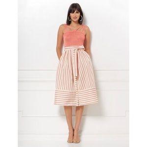 Eva Mendes Collection Jenni Stripe Full Skirt